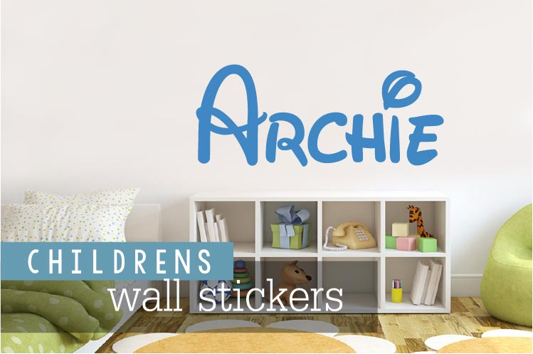 childrens wall stickers banner link