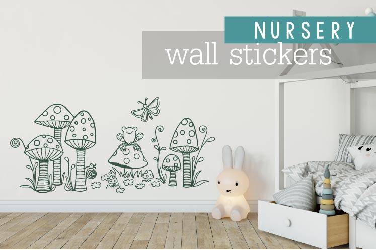 nursery wall stickers banner link