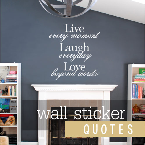 wall sticker quotes banner link