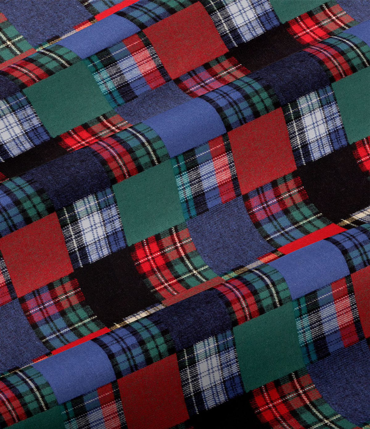 Vermont Flannel Patchwork Fabric