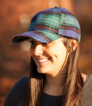 Flannel Baseball Cap - Vermont