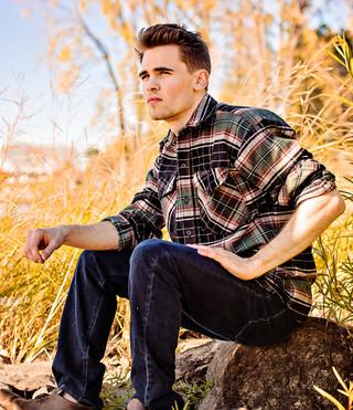 Men's Classic Flannel Shirt - Earth