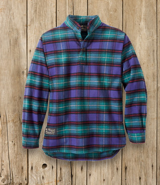 Youth Henley Shirt - Vermont