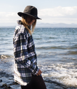 Flannel Henley - Campbell