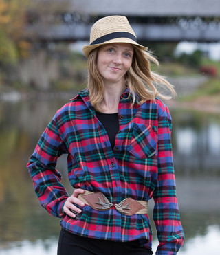Women's Classic Flannel Shirt - Fashion Stewart