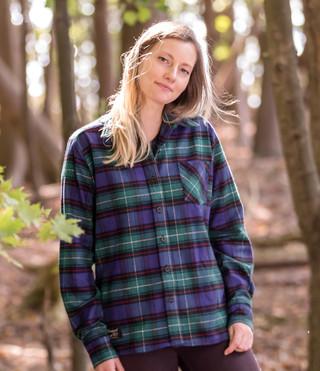 Women's Classic Flannel Shirt - Vermont