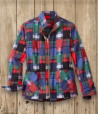 Ladies Zip Jacket - Patchwork