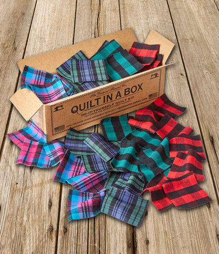 Vermont Flannel Quilt in a Box