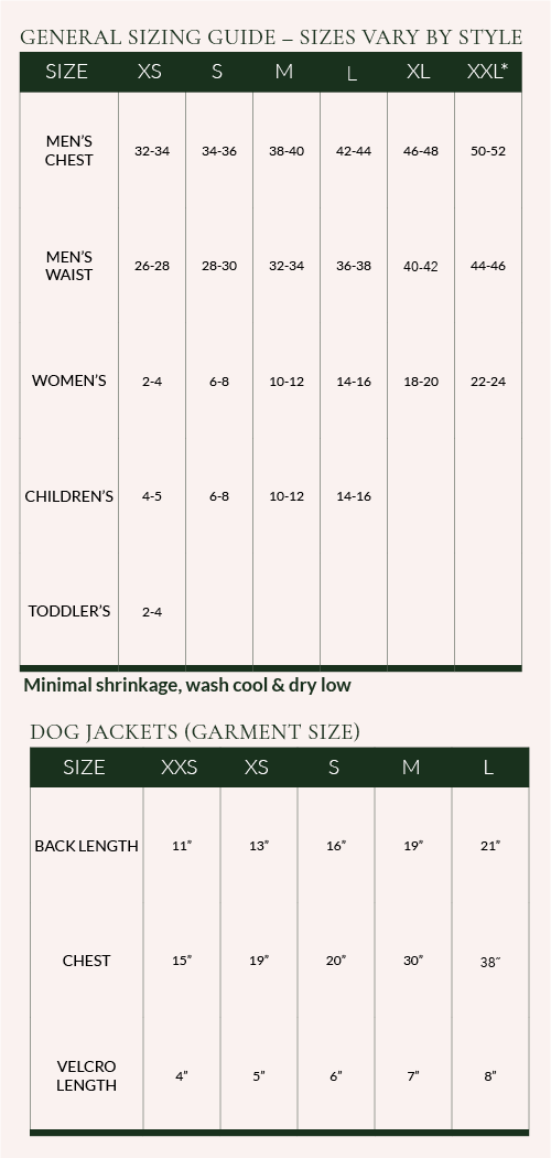 Flannel Dog Jacket