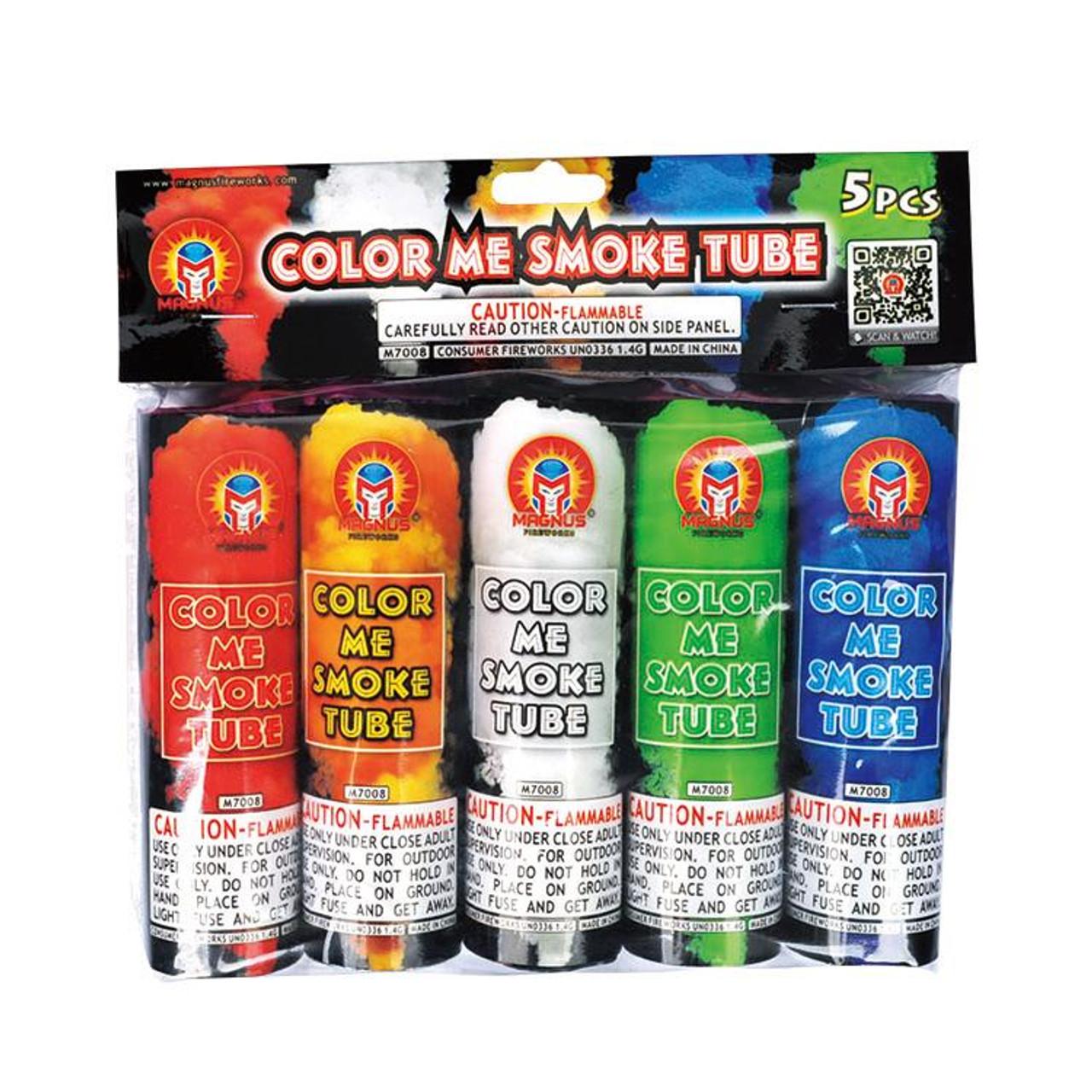 Color Me Smoke Tubes