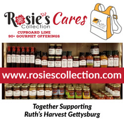 Rosie's Cares - Rosie's Collection Pledges to Support Ruth's Harvest Gettysburg Fundraiser