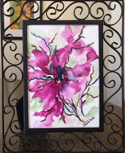 Wild Plum Watercolor