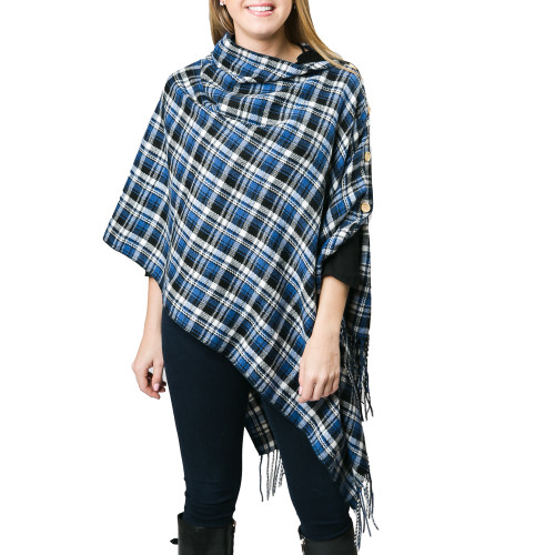 Top It Off 3 in 1 Royal Plaid