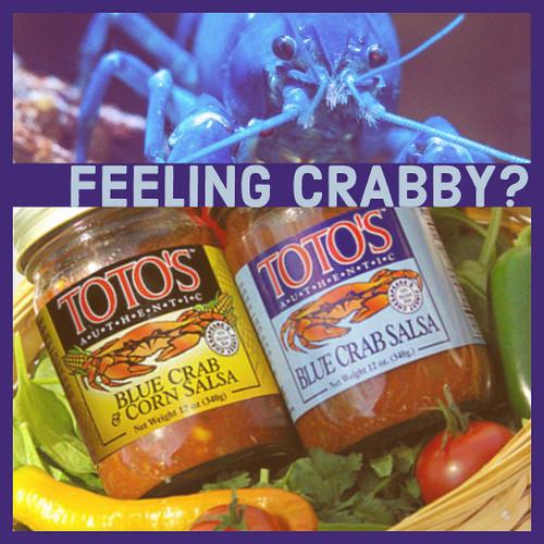 Crab Salsa & Dips