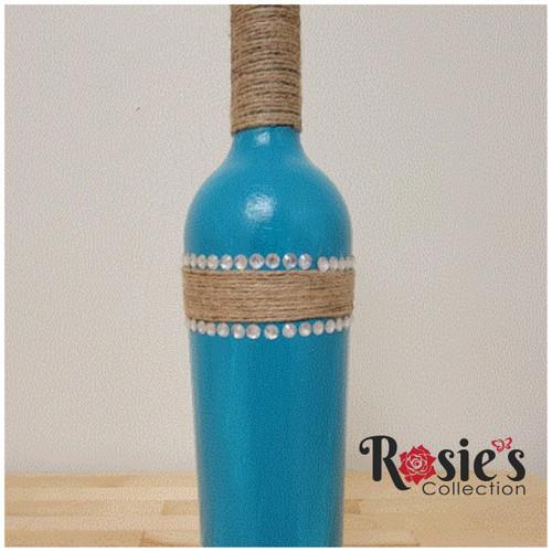 LED Large Blue Bottle