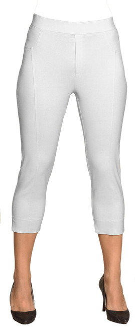 Rosie Pant in white