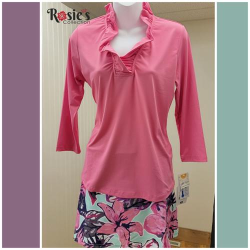 Lulu B SPX0792 Top - Hot Pink