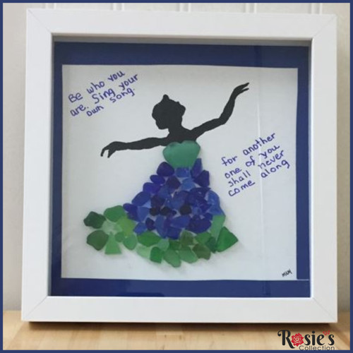 Sea Glass Art by Marj - Be who you are