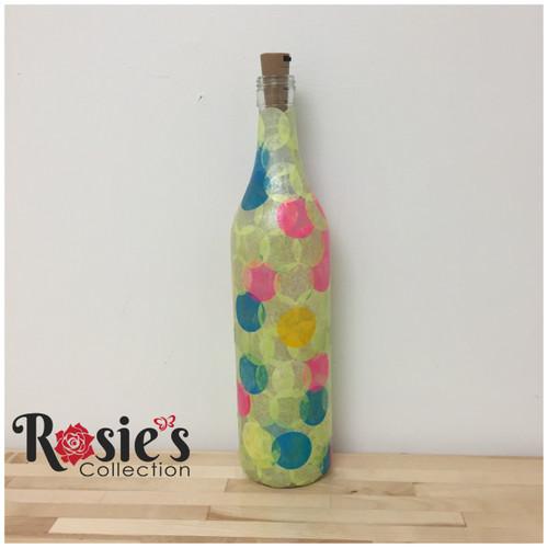 LED Balloon Bottle Table Décor
