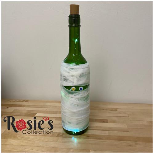 White Ghost 2 Halloween Bottle Table Décor