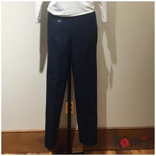 Lulu B BLD1417 Navy Ankle Pant
