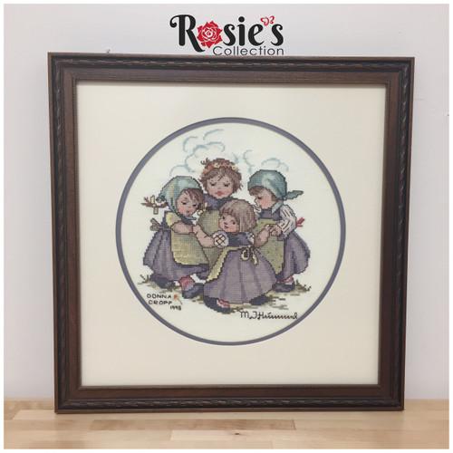 Cross Stitch by Donna Cropp - Girls playing Ring around the Rosie