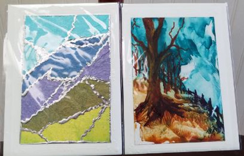 Bobbie Cropp Artwork - Encaustic Cards - IN STORE ONLY