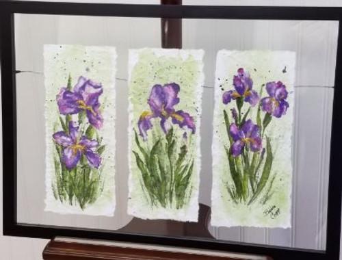 Bobbie Cropp Artwork - Iris Triplets