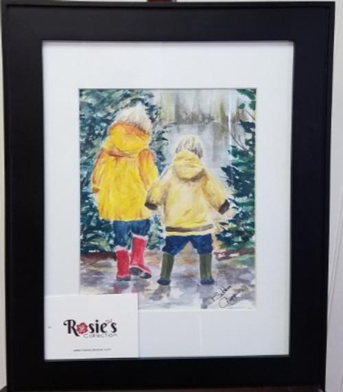 Bobbie Cropp Artwork - Just Walking in the Rain
