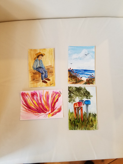 Bobbie Cropp Artwork - Post Cards - IN STORE ONLY