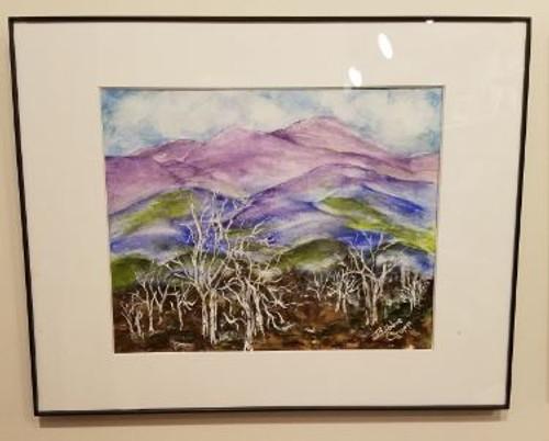 Bobbie Cropp Artwork - Purple Mountain Magesty II