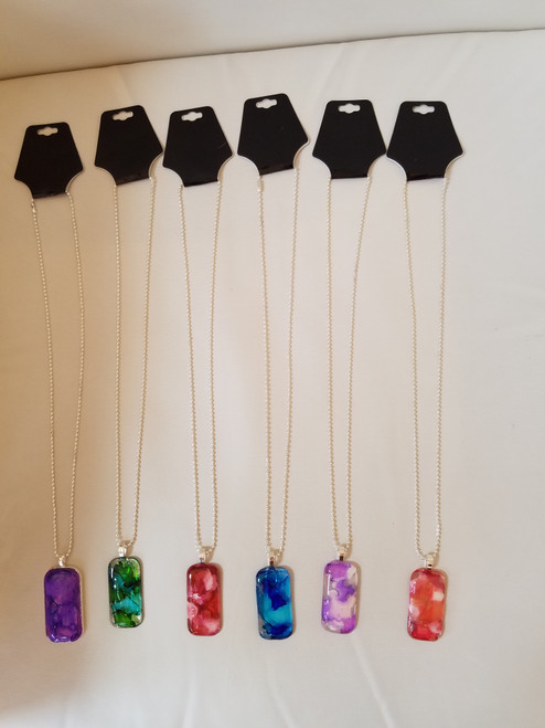 Bobbie's Jewelry - Glass Necklaces - IN STORE ONLY