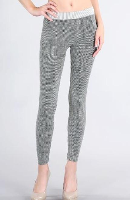 NB6997 Diamond Knit Legging
