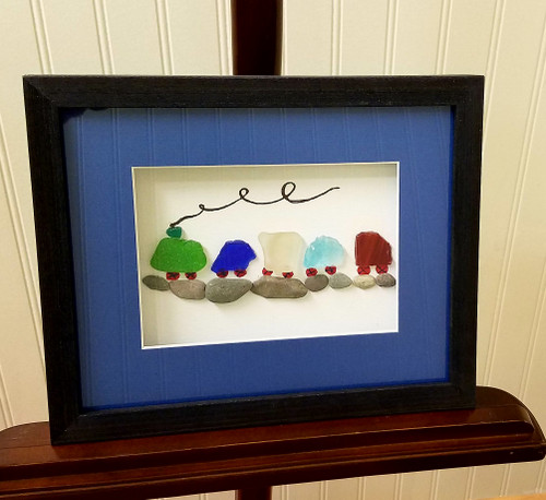 Sea Glass Art by Marj Train