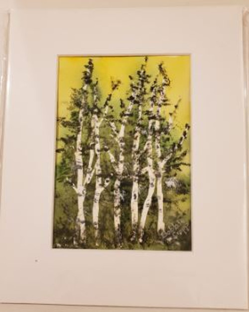 Bobbie Cropp Artwork - Banded Brothers - 5x7 with 8x10 Mat