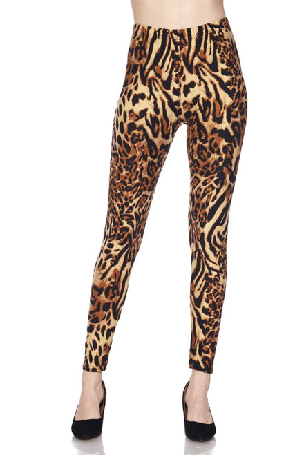 Animal Print Legging J274