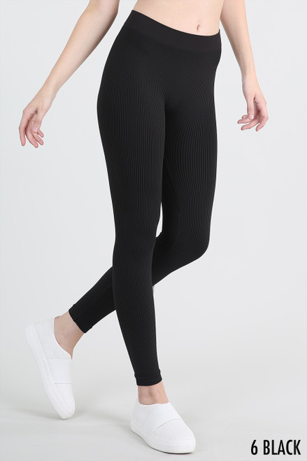 Pinstriped Leggings NB7234