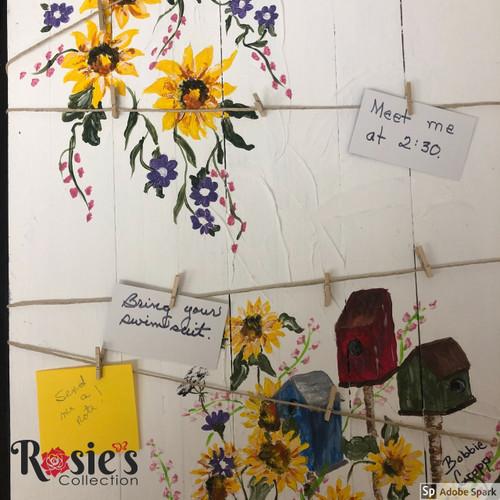 Bobbie Cropp Artwork -Memo Board