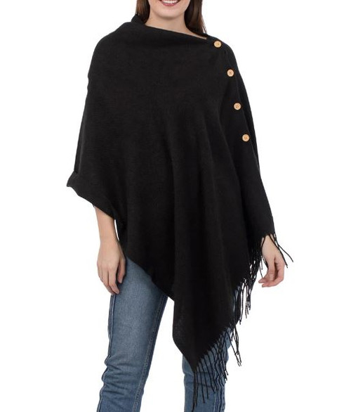 Top it off 3 in 1 Solid Wrap: Black