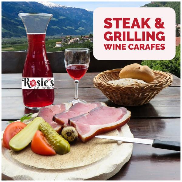 Steak & Grilling Wine Carafes