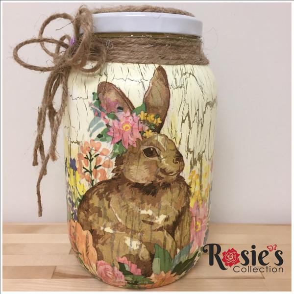 Rabbit Jug Bottle Table Decor