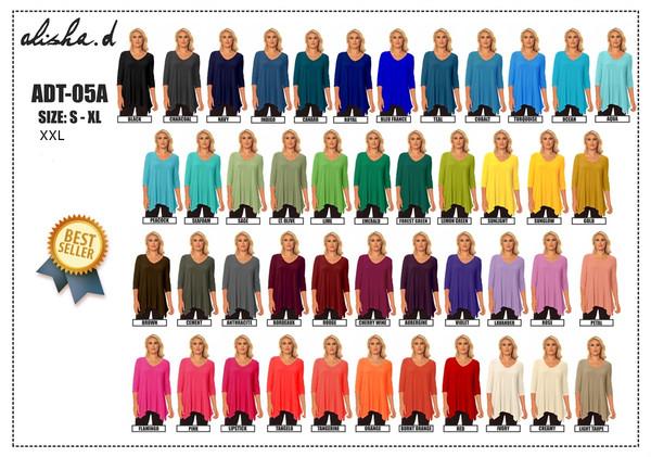 Alisha D Travel Wear Tunic Adt-05A