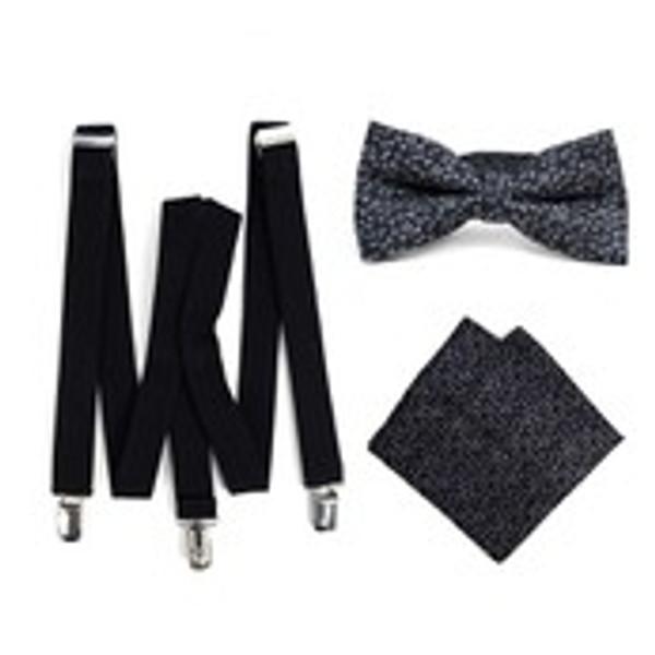 Suspenders / Tie/ Pocket Square FYBTHSU