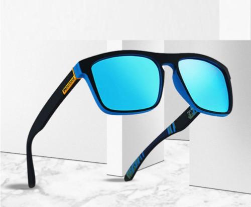 Men's Polarized Sunglasses Light weight Retro Square Fashion Shades Reflective Gafas Lentes