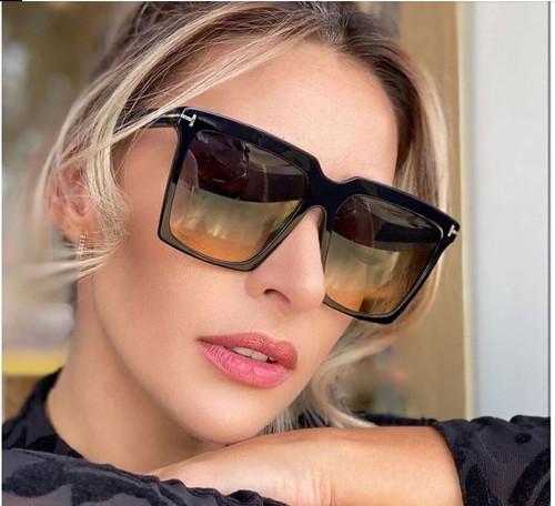 Women Oversized Sunglasses Square Model Designer Elegant Luxury NEW 2020 Model Gafas  Lentes