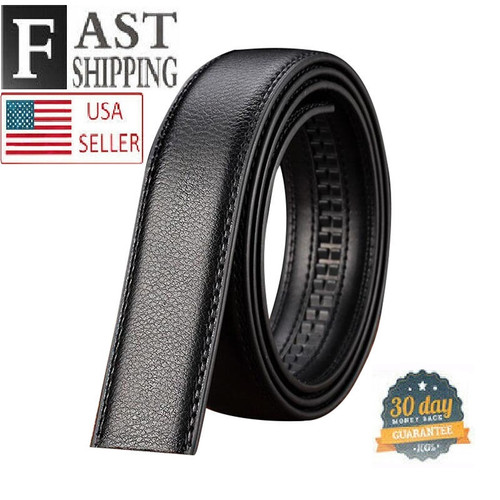 3.5 cm Belt Strap for Automatic Ratchet Buckles Belts (STRAP ONLY. NO BUCKLE)