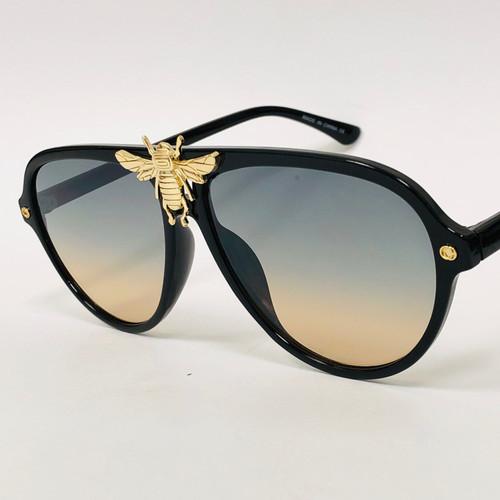 Women's Men's Sunglasses Fashion Moth bug Bee Style Rapper Hip Hop Shades New Gafas Lentes