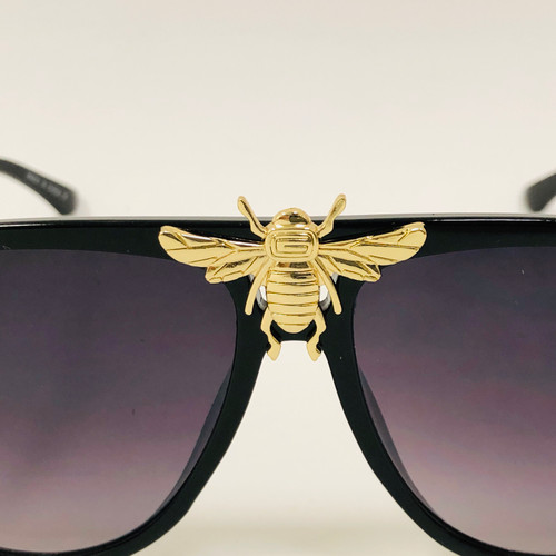 Women's Men's Sunglasses Fashion Moth bug Bee Style Rapper Hip Hop Shades New Gafas Lentes