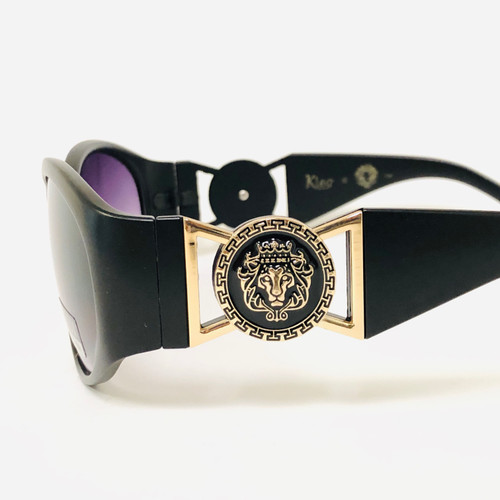Fashion Design Men Rapper Square Sunglasses Gradient Shades Kleo Lion Head 2020 Men Sunglasses Fashion Design Black Frame Kleo Hip Hop Style Square Shades Gafas Lentes