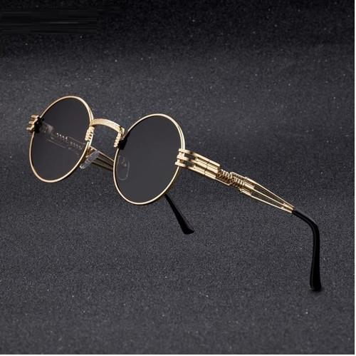 Gold Metal Round Frame Migos Designer Clear Lens Men Women Eyeglasses Sunglasses  Gafas de Sol Lentes de Moda Migos Redondo Dorado Hombres